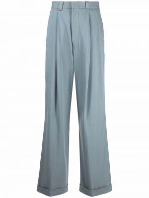 Niebieskie spodnie z wiskozy Eytys