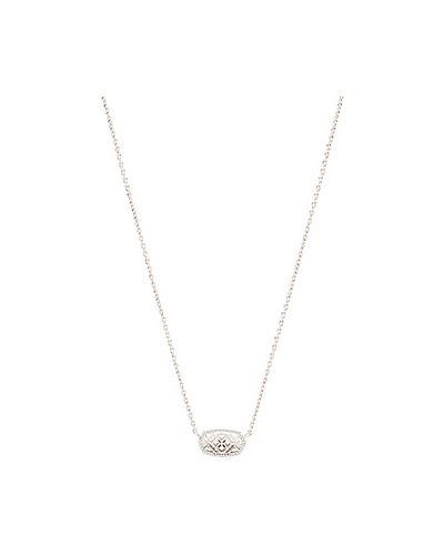 Ожерелье из серебра серебряный Kendra Scott