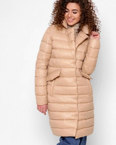 Утепленная куртка - бежевая Carica&x-woyz