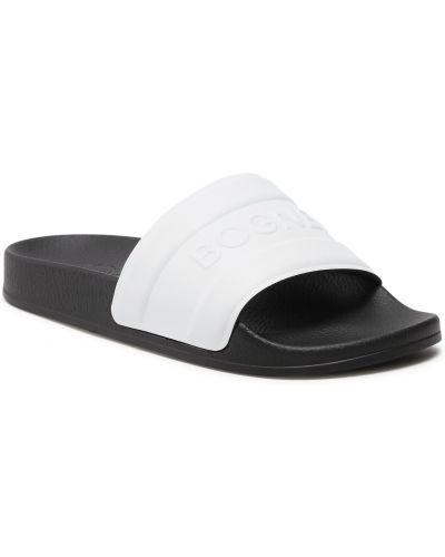 Białe sandały Bogner