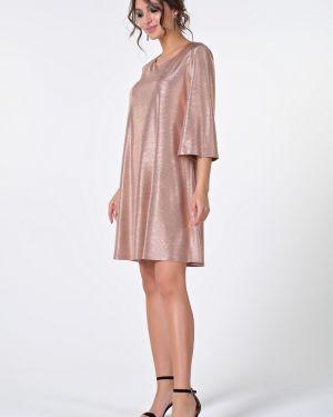 Вечернее платье с люрексом Valentina