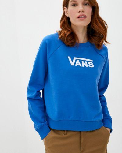 Синяя толстовка Vans