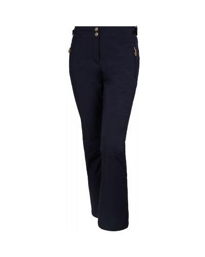 Синие утепленные спортивные брюки на молнии Sportalm