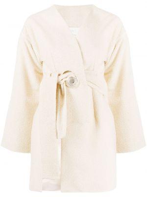 Пиджак без рукавов с поясом на пуговицах Loulou