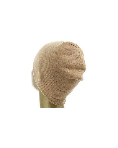 Коричневая кашемировая шапка Not Shy
