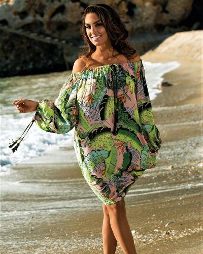 Пляжное платье - зеленое Toccata