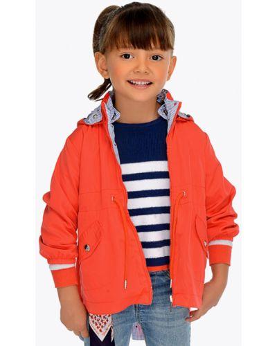 Куртка двусторонняя красная Mayoral