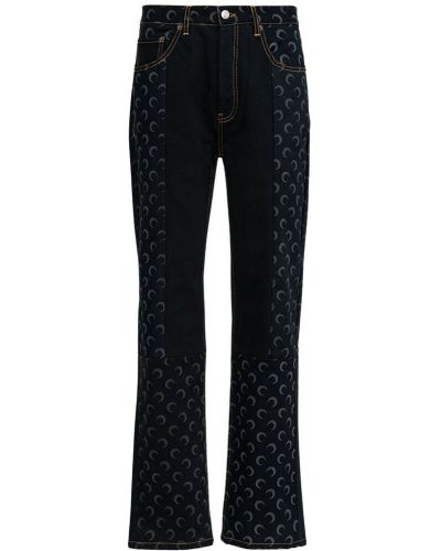 Czarne mom jeans Marine Serre