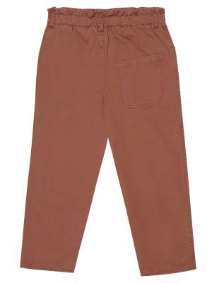 Хлопковые ватные брюки на торжество Caramel