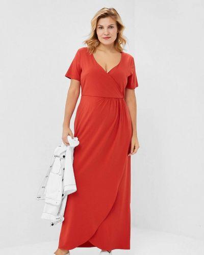 Повседневное платье - оранжевое Wersimi