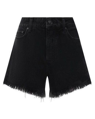 Джинсовые шорты - черные Paige