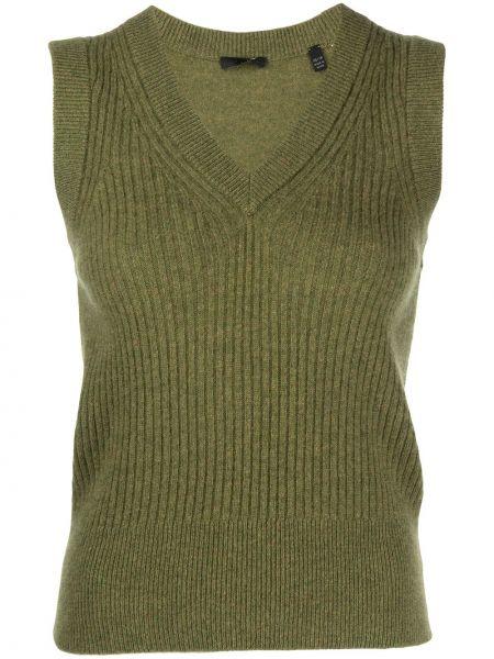 Кашемировый свитер - зеленый Atm Anthony Thomas Melillo