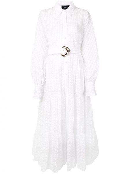 Платье макси с завышенной талией на пуговицах Taller Marmo