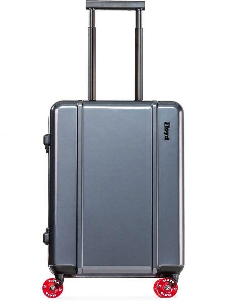 Серый чемодан Floyd