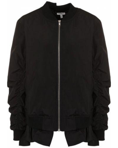 Куртка черная на молнии Clu