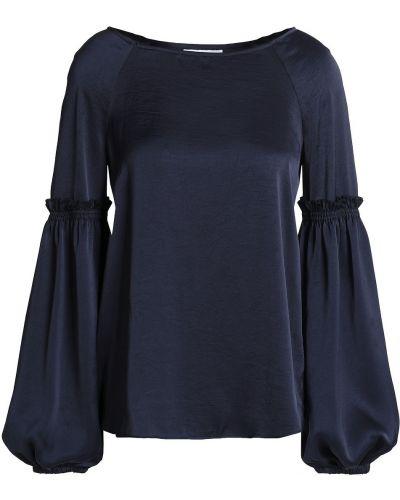 Niebieska satynowa bluzka Bailey 44