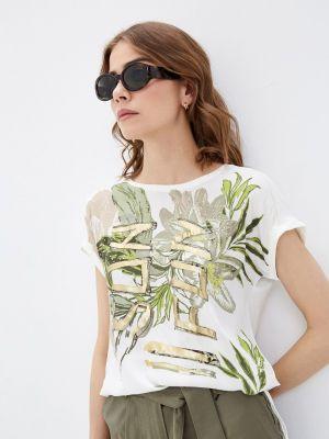 Белая блузка с короткими рукавами Betty Barclay