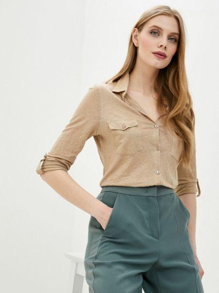 Бежевая блузка с длинным рукавом Intimissimi
