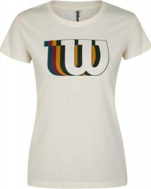 Спортивная футболка - белая Wilson
