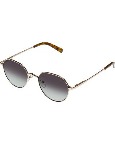 Żółte okulary Le Specs