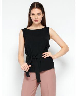 Блузка без рукавов с поясом из вискозы Fiato