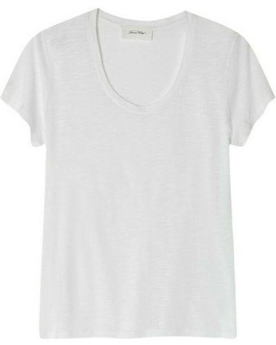 T-shirt vintage - biała American Vintage