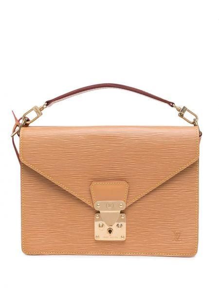 Коричневая сумка винтажная Louis Vuitton