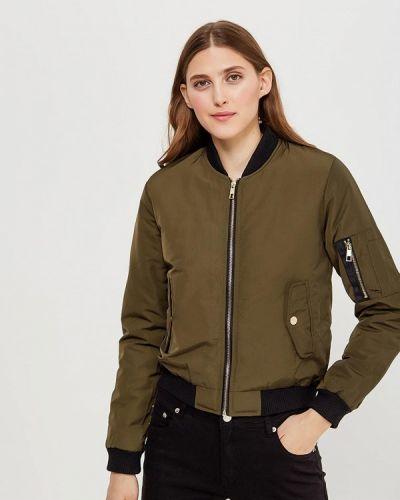 Утепленная куртка весенняя зеленая Fascinate