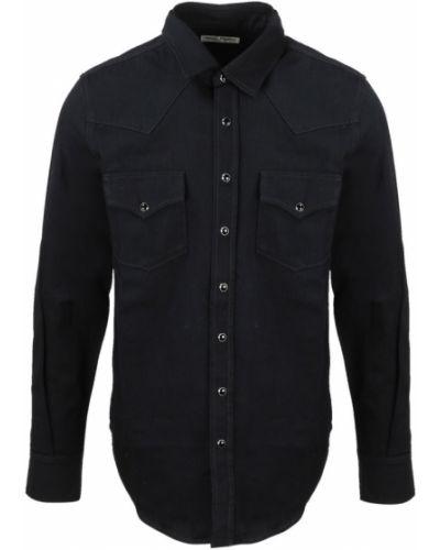 Koszula jeansowa - czarna Saint Laurent