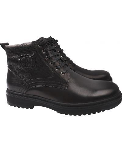 Кожаные ботинки - черные Arees Meniwa
