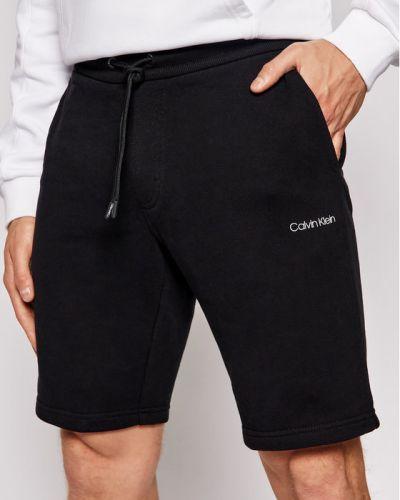 Czarne spodenki sportowe Calvin Klein