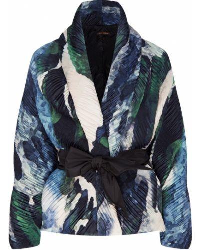 Свободная с рукавами короткая куртка с поясом Adolfo Dominguez