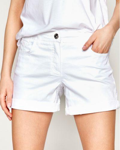 Białe szorty jeansowe Laurel