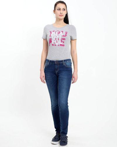 Повседневные хлопковые джинсы F5
