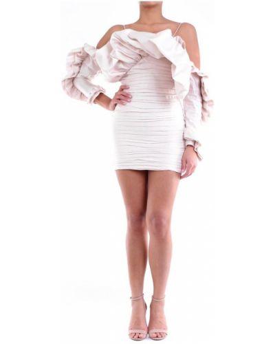 Beżowa sukienka mini Magda Butrym