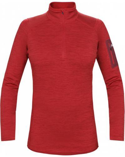 Пуловер бордовый красный Red Fox