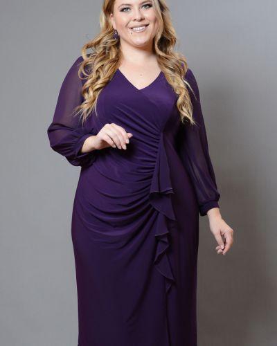 Шифоновое платье - фиолетовое Avigal (avrora)