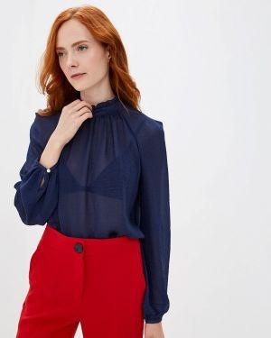 Блузка с длинным рукавом синяя Woman Ego