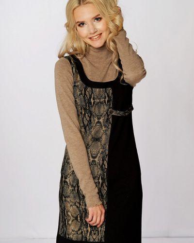 Платье вязаное осеннее Ано