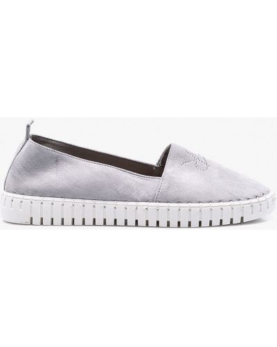 Туфли кожаные замшевые Carinii