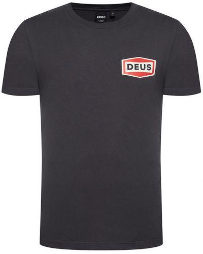 Szary t-shirt Deus Ex Machina