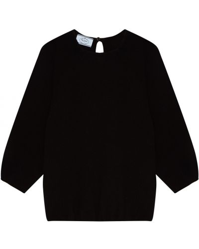Черный свитер Prada