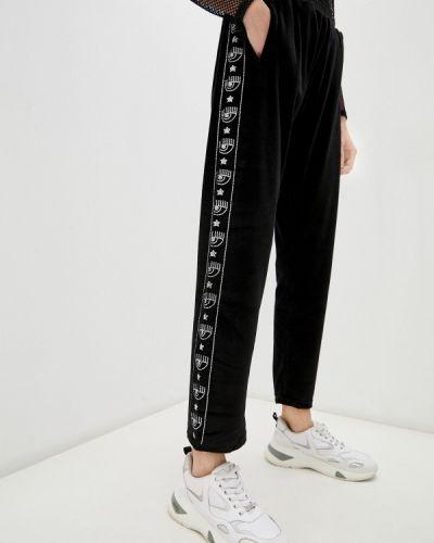 Черные зимние спортивные брюки Chiara Ferragni Collection