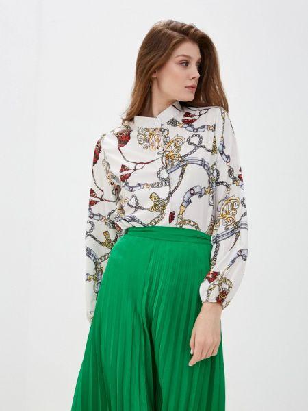 Блузка с длинным рукавом белая весенний Marissimo