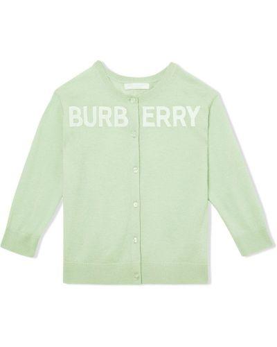 Костюм зеленый Burberry Kids
