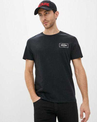 Черная футболка Zadig & Voltaire