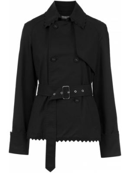 Черная длинная куртка Reinaldo Lourenço