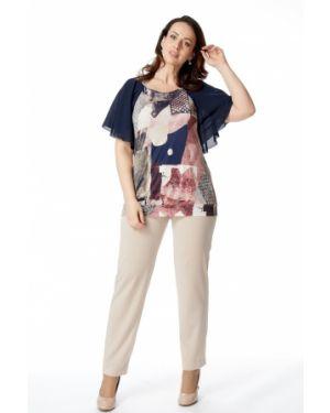 Блузка с рукавом реглан с цветочным принтом Amarti