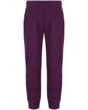 Прямые спортивные теплые фиолетовые брюки Outventure