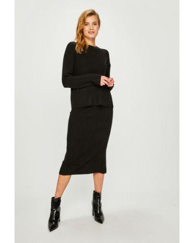 Платье миди с поясом платье-свитер Answear